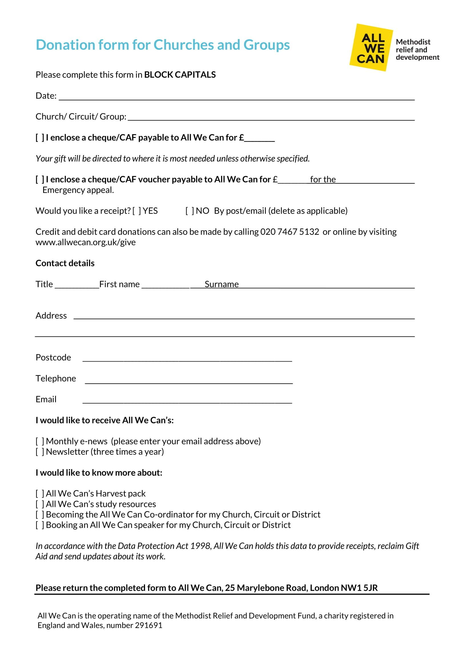 003 Imposing Tax Donation Form Template Inspiration  Ir Charitable Receipt Deductible ExampleFull