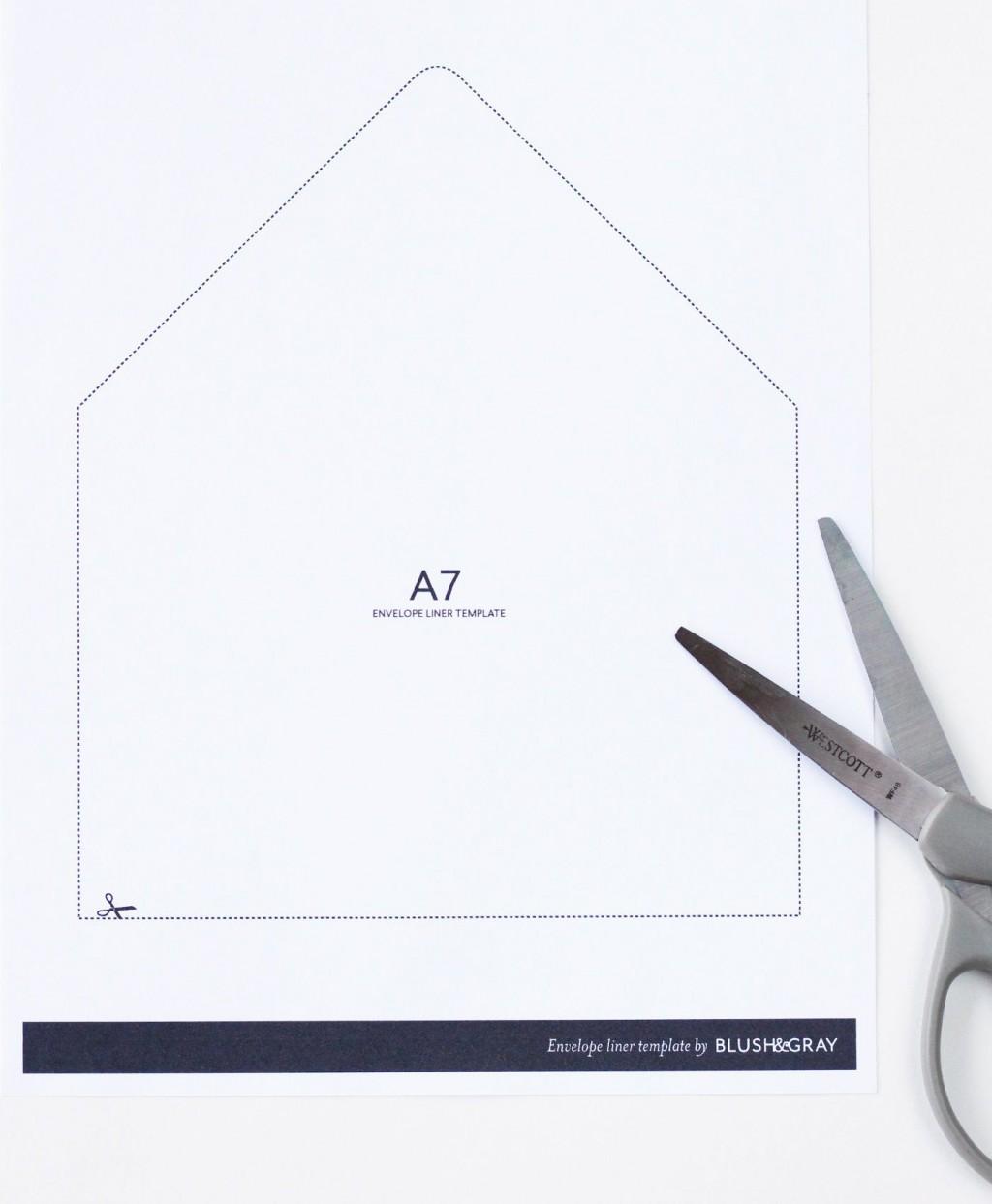 003 Impressive A7 Envelope Liner Template High Definition  Printable Illustrator FreeLarge