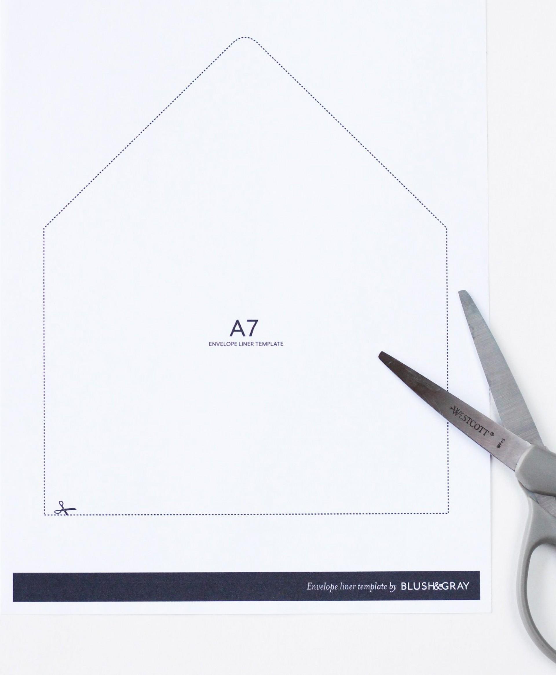 003 Impressive A7 Envelope Liner Template High Definition  Printable Illustrator Free1920