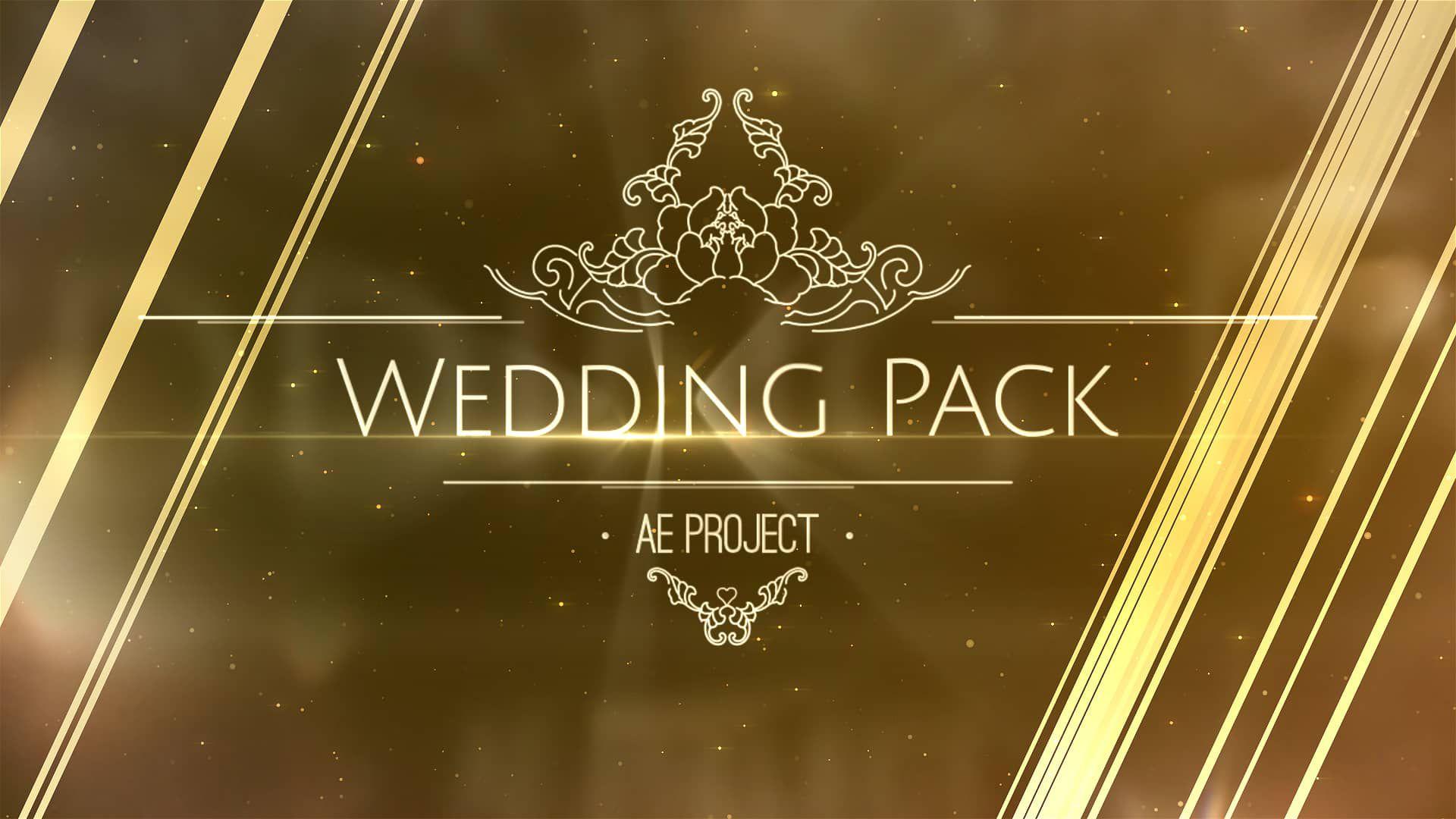 003 Impressive After Effect Wedding Template Design  Templates Free Download Cc InvitationFull
