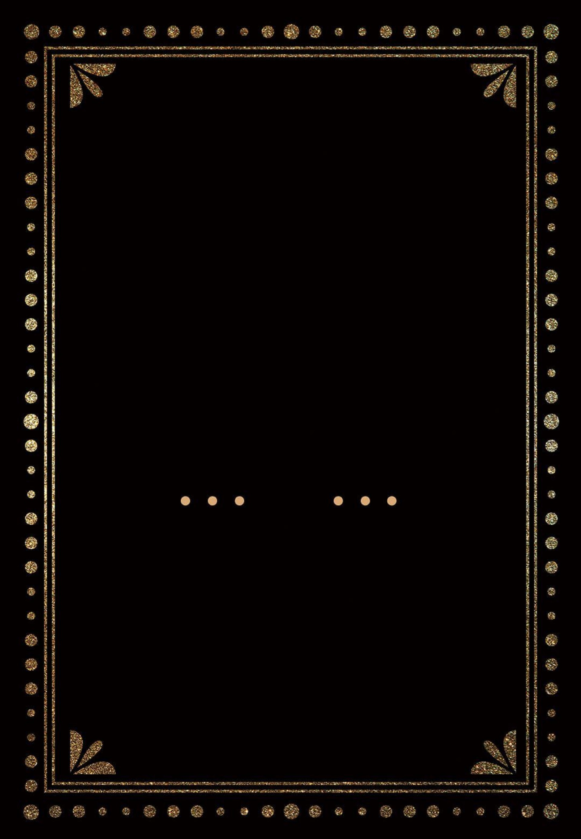 003 Impressive Black And Gold Invitation Template Highest Clarity  Design White Free Printable1920