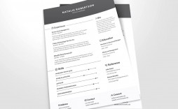 003 Impressive Busines Resume Template Word High Definition  Analyst Columbia School