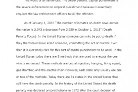 003 Impressive Capital Punishment Essay Picture  Ielt Simon In Hindi