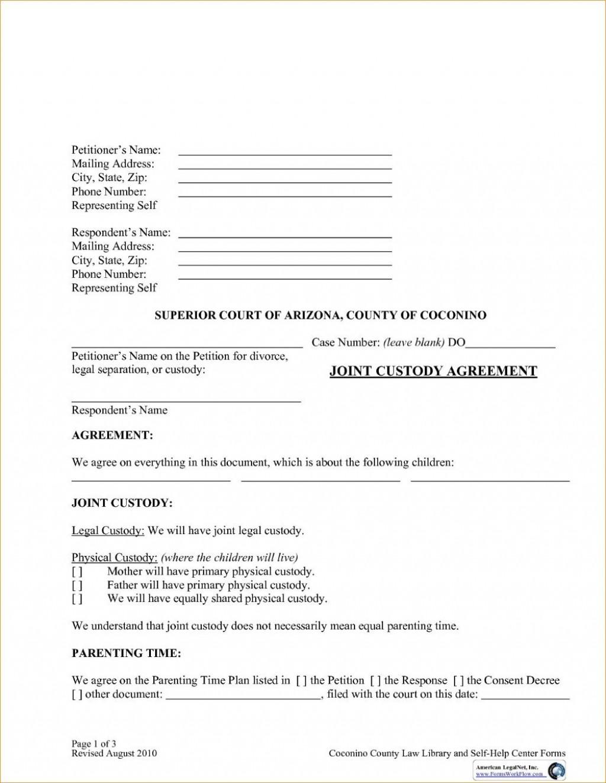 003 Impressive Child Custody Agreement Template High Def  Templates Pennsylvania Uk FreeLarge