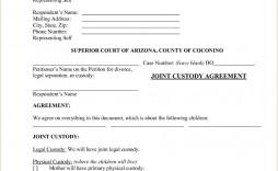 003 Impressive Child Custody Agreement Template High Def  Templates Pennsylvania Uk Free