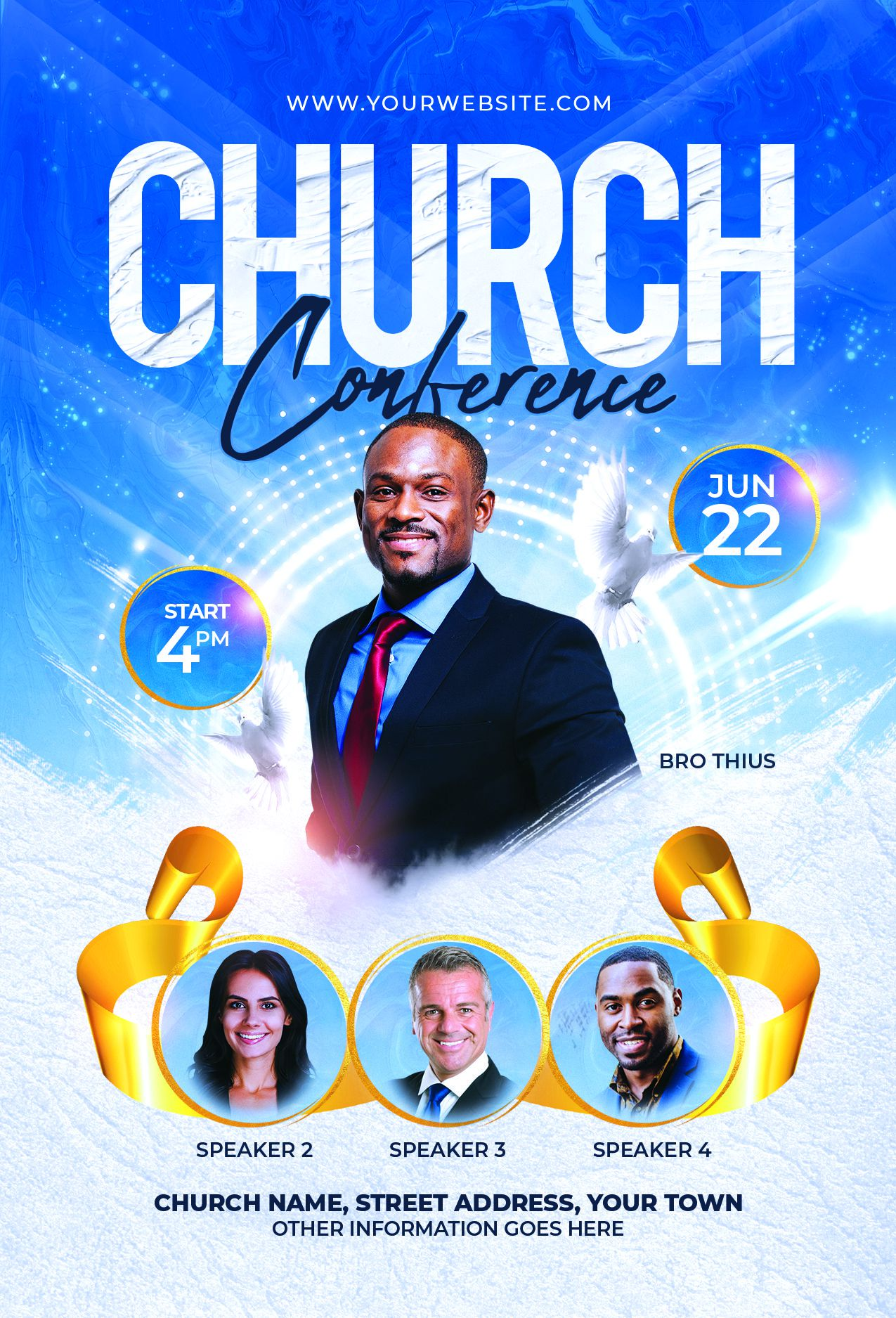 003 Impressive Church Flyer Template Photoshop Free High Resolution  PsdFull