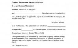003 Impressive Commercial Property Management Agreement Template Uk Inspiration