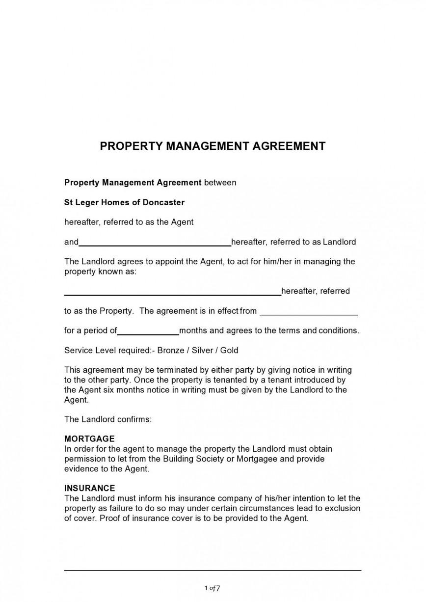 003 Impressive Commercial Property Management Agreement Template Uk Inspiration 868