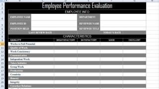 003 Impressive Employee Evaluation Form Template Photo  Sample Doc Printable Free Word320