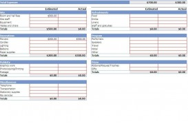 003 Impressive Event Budget Template Excel Idea  Download 2010 Planner