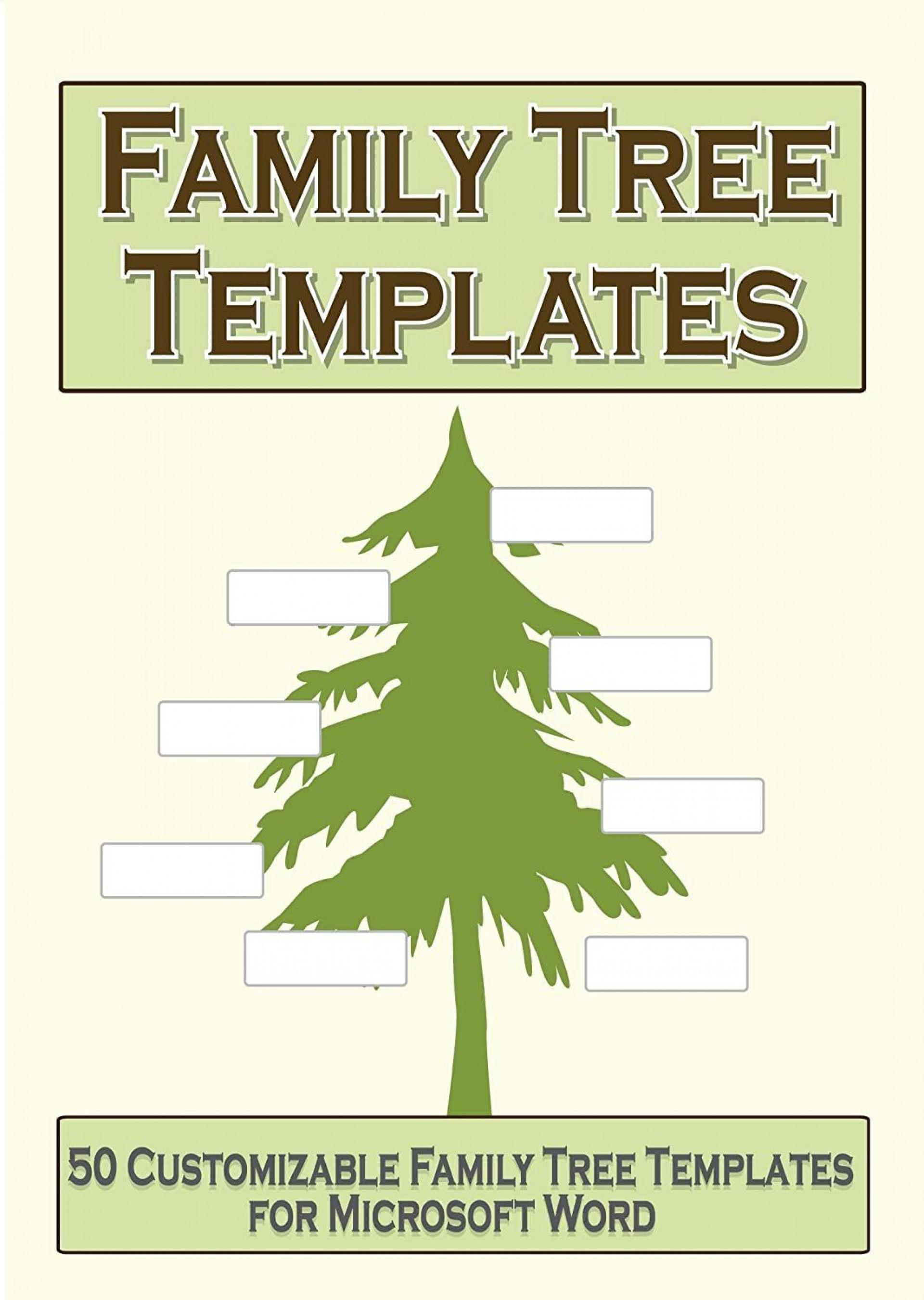003 Impressive Family Tree Book Template Word Photo  History1920