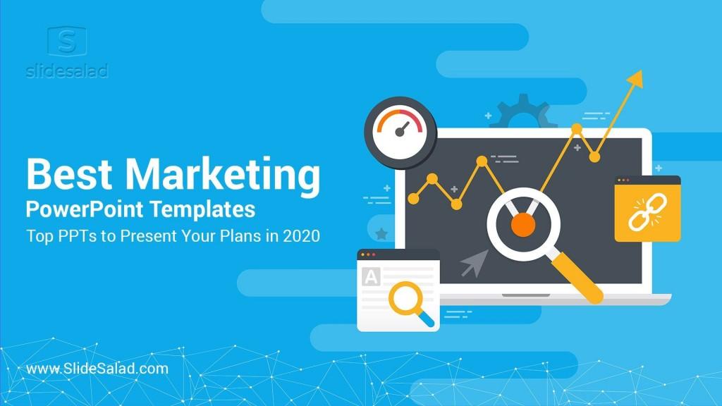 003 Impressive Free Digital Marketing Plan Template Ppt Photo Large