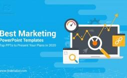 003 Impressive Free Digital Marketing Plan Template Ppt Photo