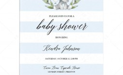 003 Impressive Free Editable Baby Shower Invitation Template For Word High Definition  Microsoft