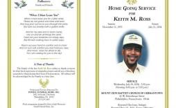 003 Impressive Free Funeral Program Template Image  Word Catholic Editable Pdf