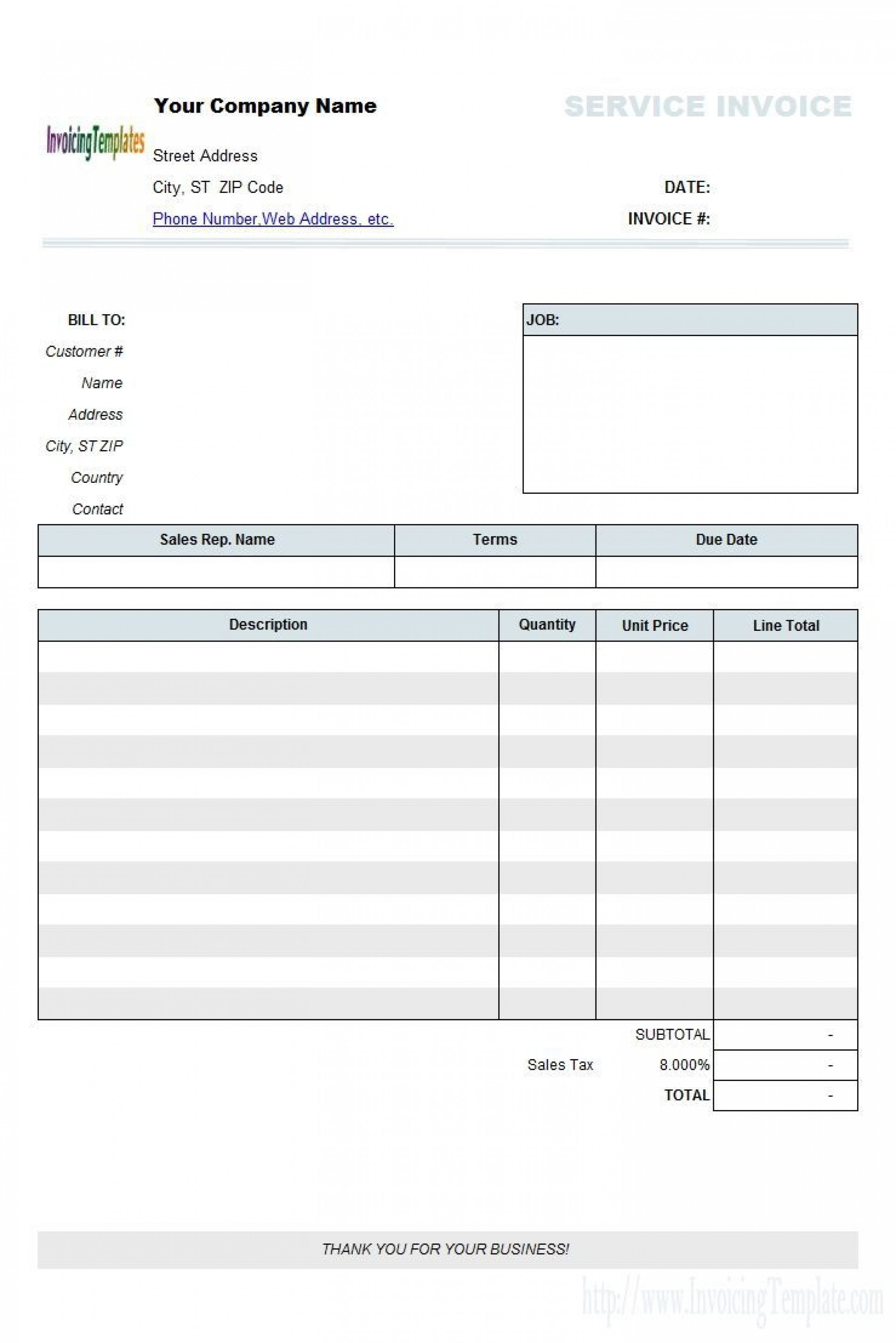 003 Impressive Free Invoice Template Excel High Resolution  Simple Proforma Delivery Receipt Tax South Africa1920