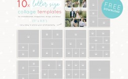 003 Impressive Free Photo Collage Template No Download Example