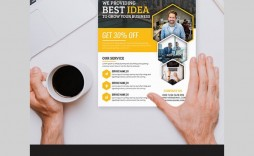 003 Impressive Free Print Ad Template Picture  Templates Real Estate For Word