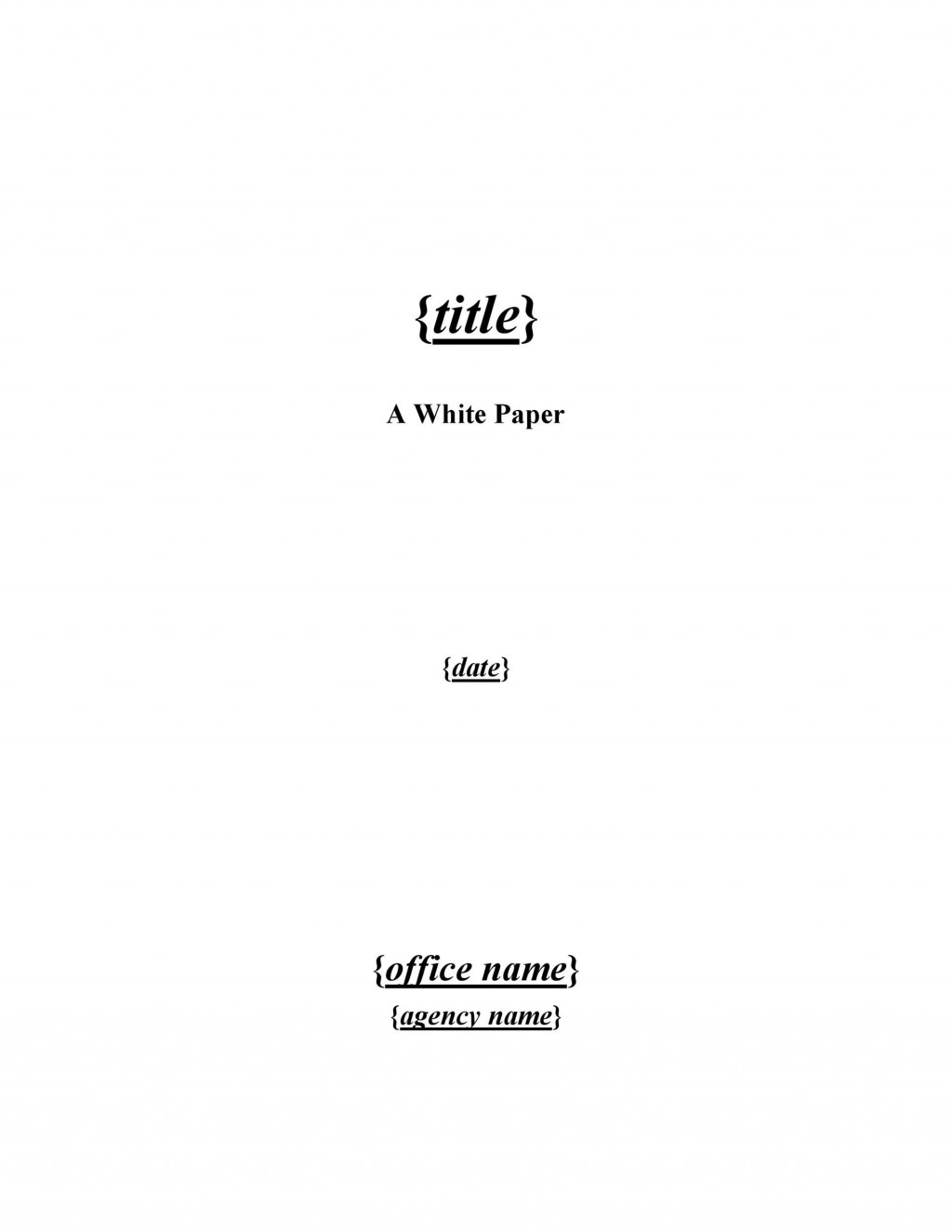 003 Impressive Free White Paper Template Microsoft Word Idea Large