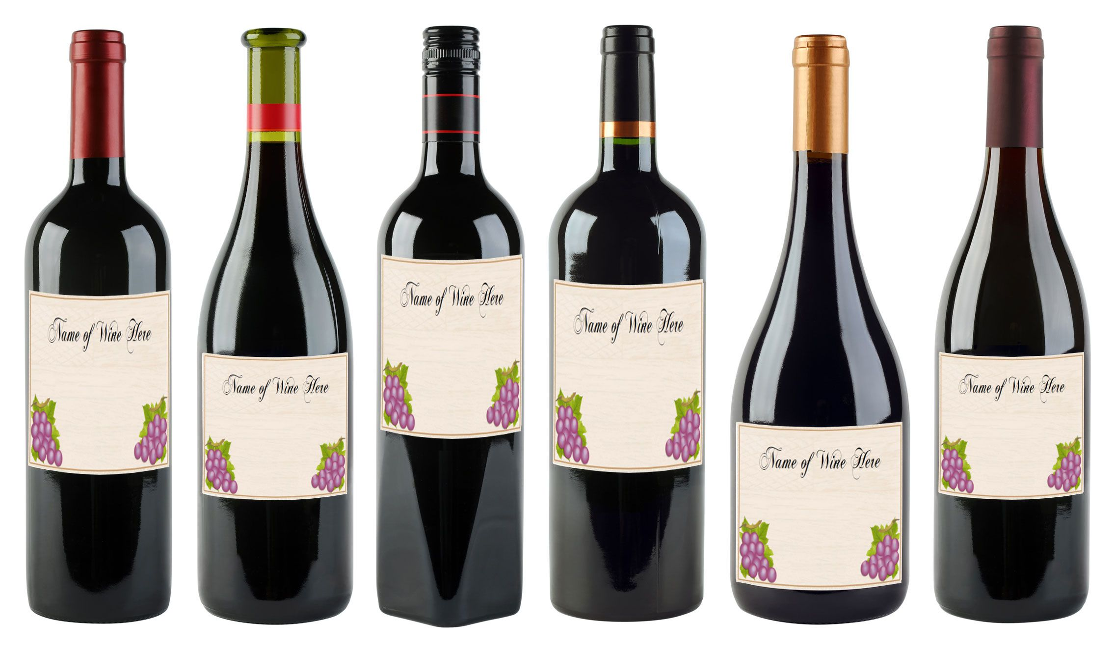 003 Impressive Free Wine Bottle Label Template Highest Quality  Mini PrintableFull