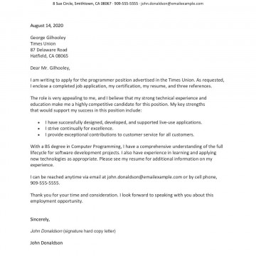 003 Impressive Good Cover Letter Template Example Idea  Sample Nz Free360