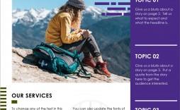 003 Impressive High School Newsletter Template Free Download Inspiration