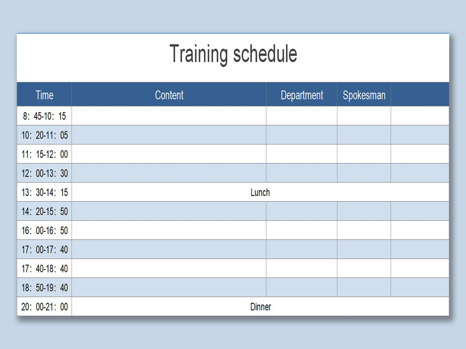 003 Impressive House Cleaning Schedule Template Excel Idea Full