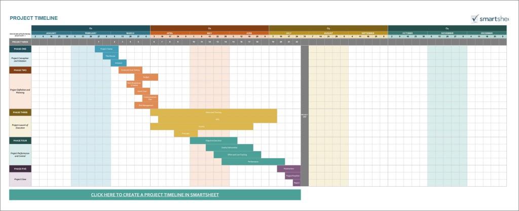 003 Impressive Microsoft Excel Timeline Template Idea  Templates Project Free DownloadLarge