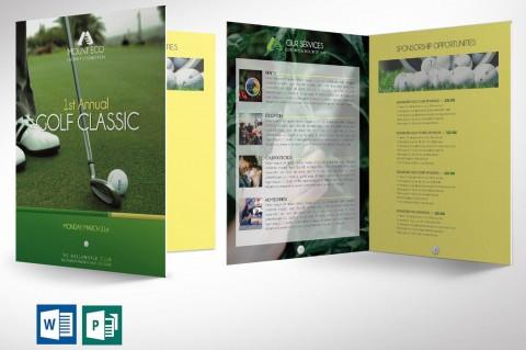 003 Impressive Microsoft Publisher Booklet Template Image  2007 Brochure Free Download Handbook480