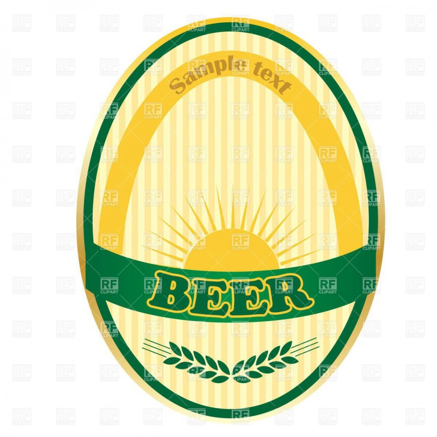 003 Impressive Microsoft Word Beer Label Template Concept  Bottle868
