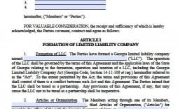 003 Impressive Operating Agreement Template For Llc Inspiration  Form Florida Texa
