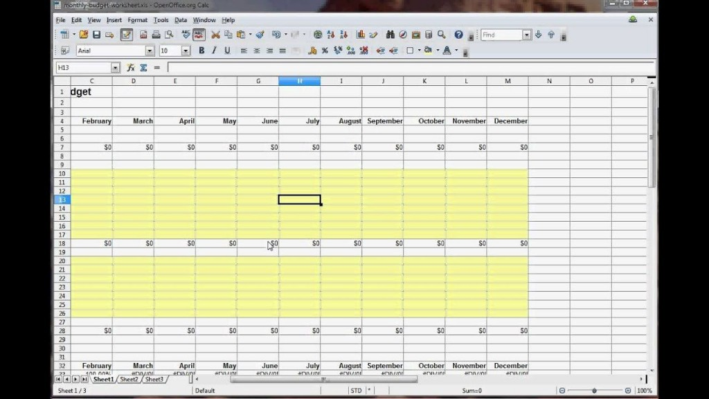 003 Impressive Personal Budget Spreadsheet Template For Mac Example Large