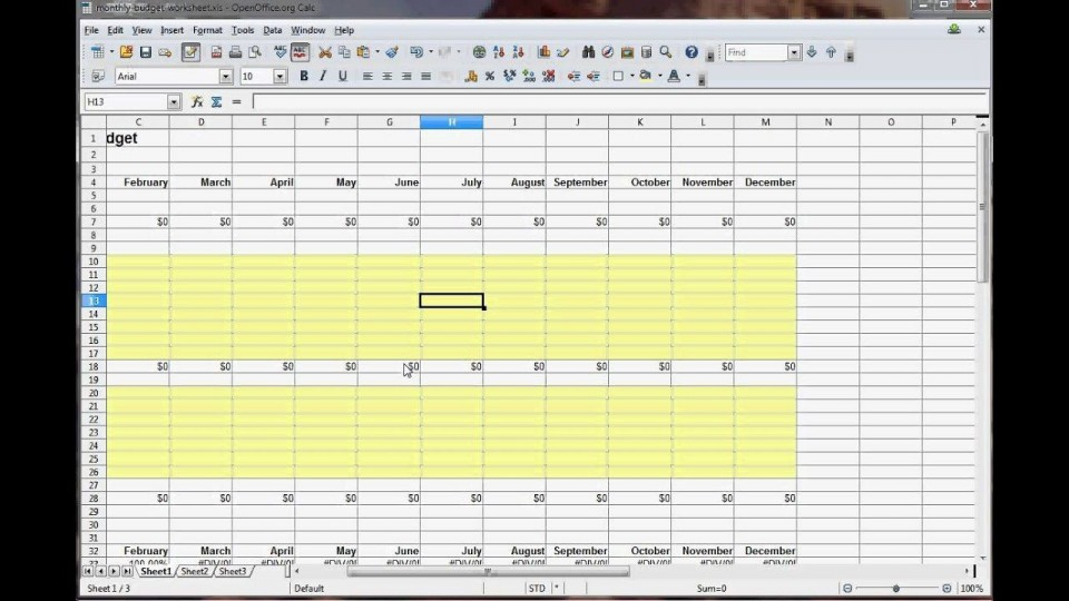 003 Impressive Personal Budget Spreadsheet Template For Mac Example 960