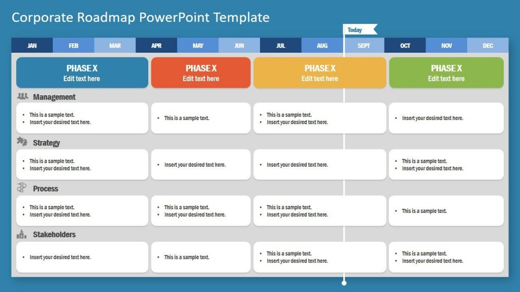 003 Impressive Project Management Report Template Ppt Concept  Weekly StatuLarge