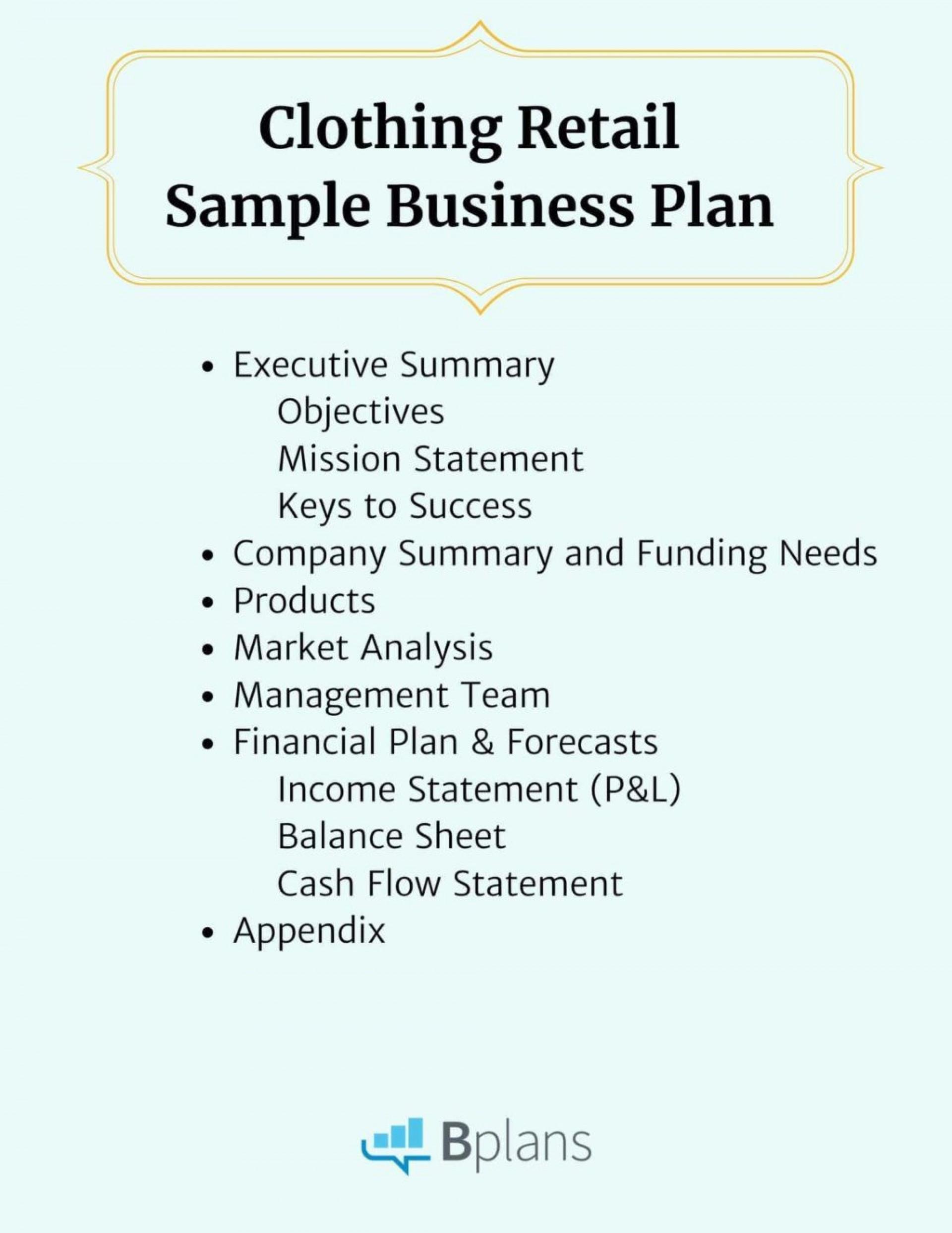 003 Impressive Retail Busines Plan Template Image  Free Online Store Example Pdf1920