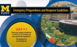 003 Impressive School Emergency Operation Plan Template Michigan Concept