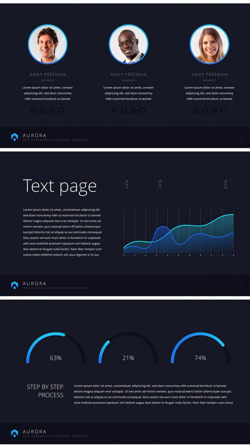 003 Impressive Social Media Trend 2017  Powerpoint Template Free High Definition -