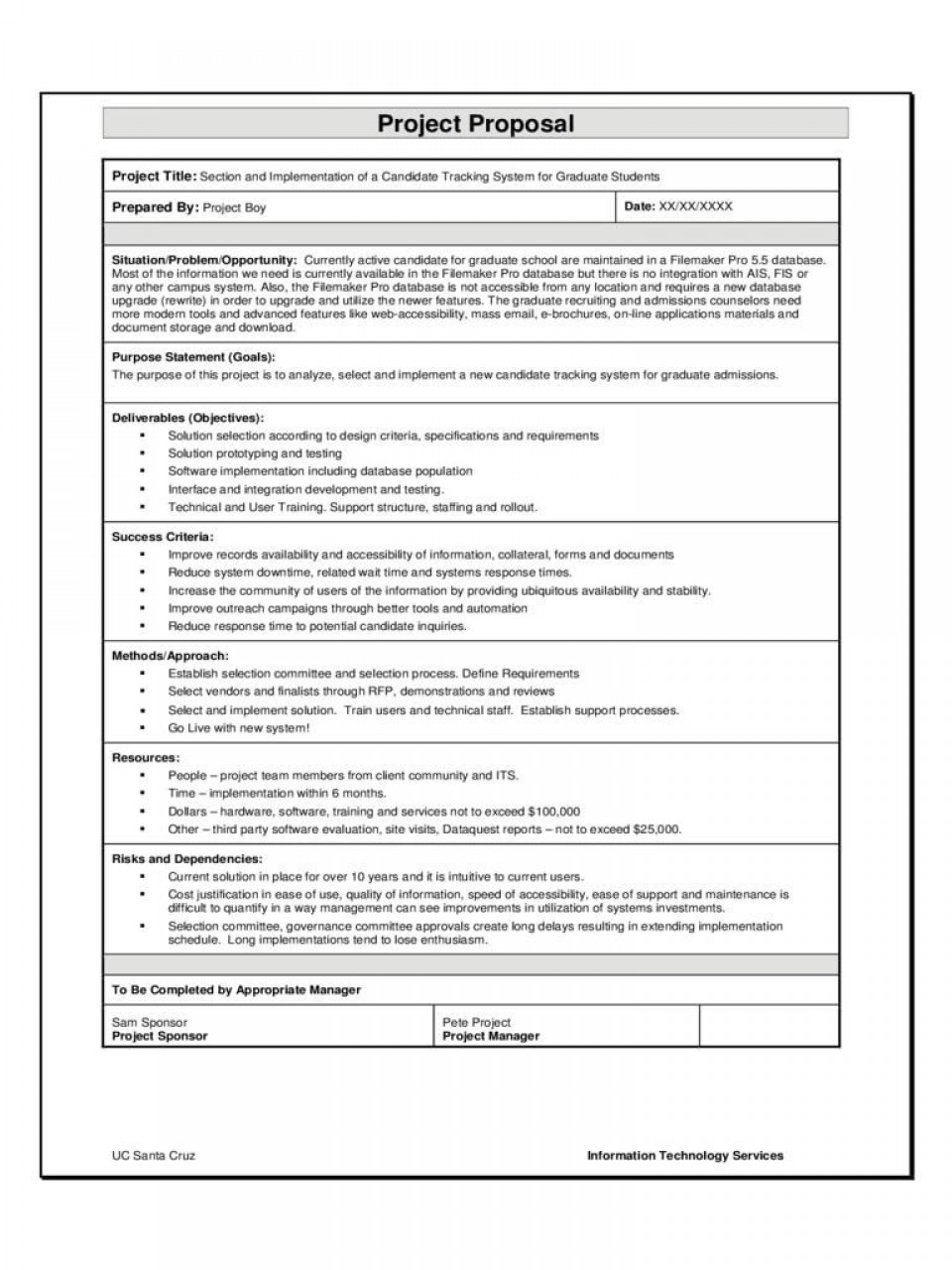 003 Impressive Software Project Management Plan Example Pdf Inspiration  Risk Template960
