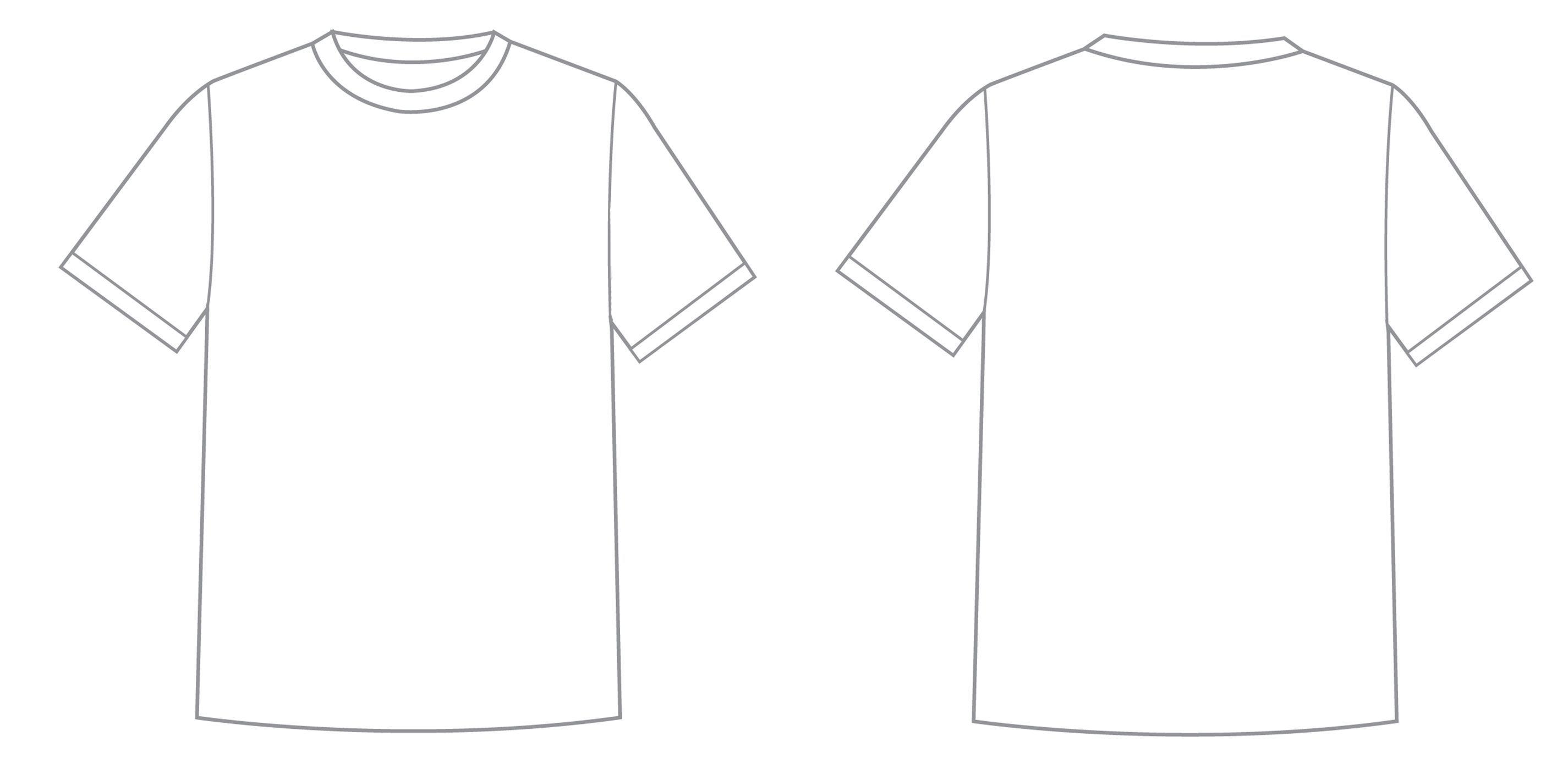 003 Impressive T Shirt Template Design Photo  Psd Free Download EditableFull
