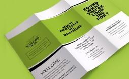 003 Impressive Tri Fold Brochure Template Word Highest Quality  2010 2007 Free