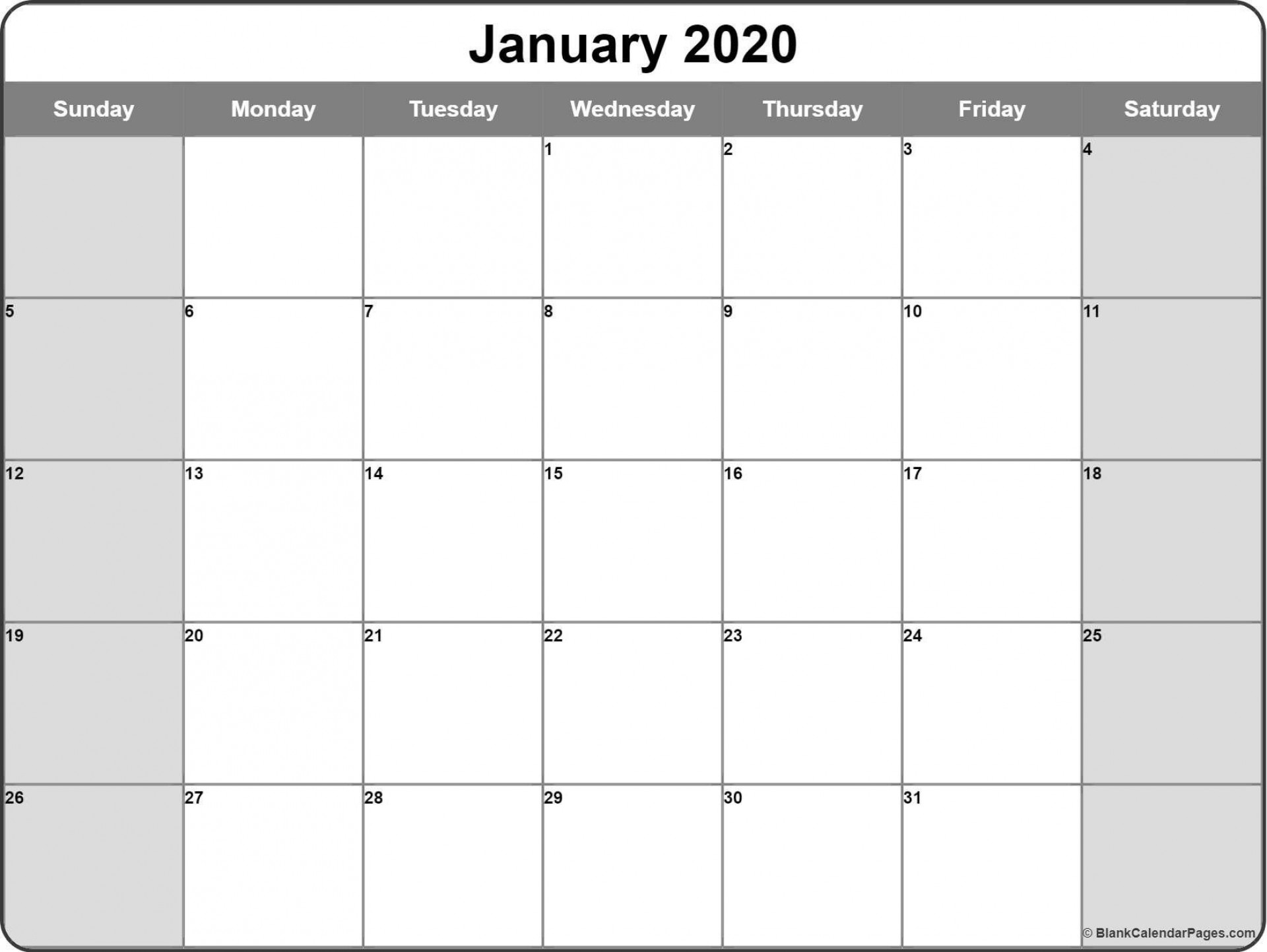 003 Incredible 2020 Monthly Calendar Template Image  Templates Word Australian Free1920