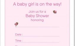 003 Incredible Baby Shower Invitation Girl Princes Example  Princess Theme