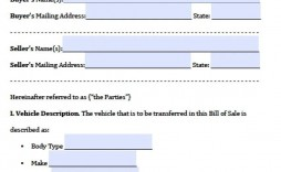003 Incredible Bill Of Sale Texa Template Inspiration  Motor Vehicle Form Free Printable