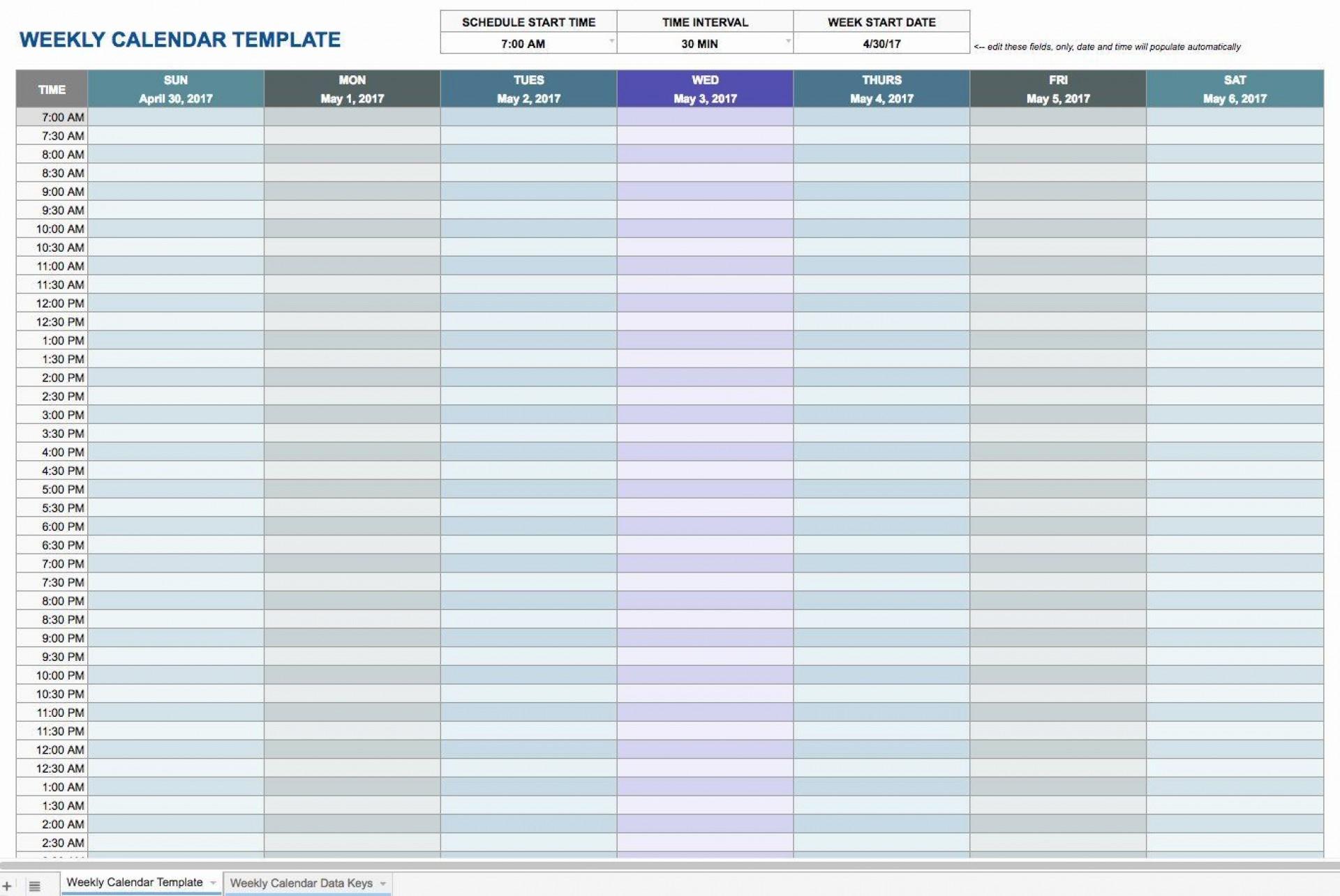 003 Incredible Blank Monthly Calendar Template Google Doc Sample  Docs1920