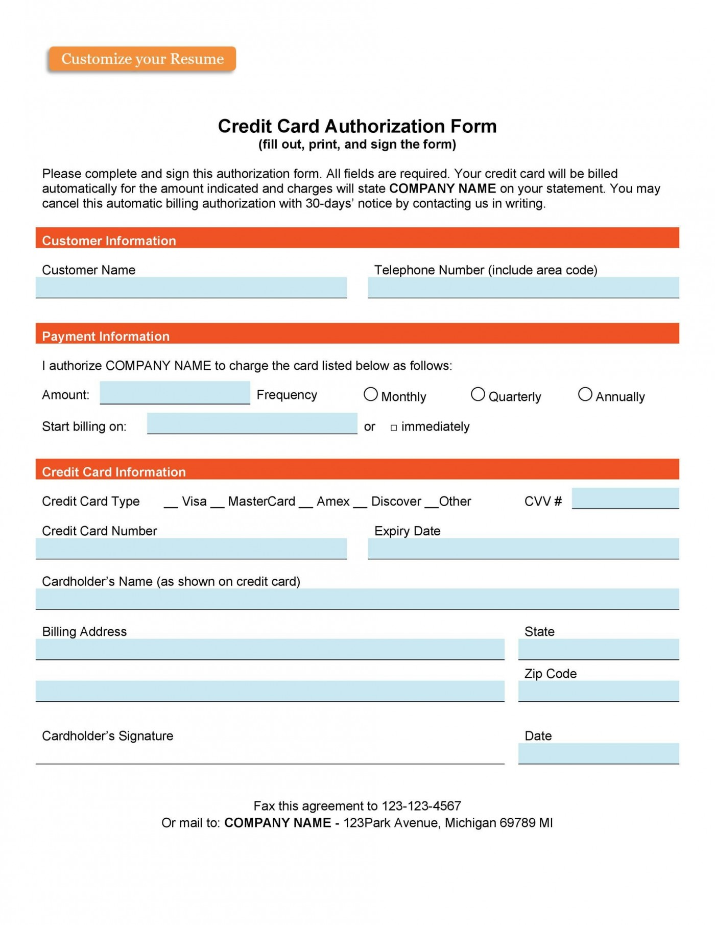 003 Incredible Credit Card Form Template Html Concept  Example Payment Cs1400