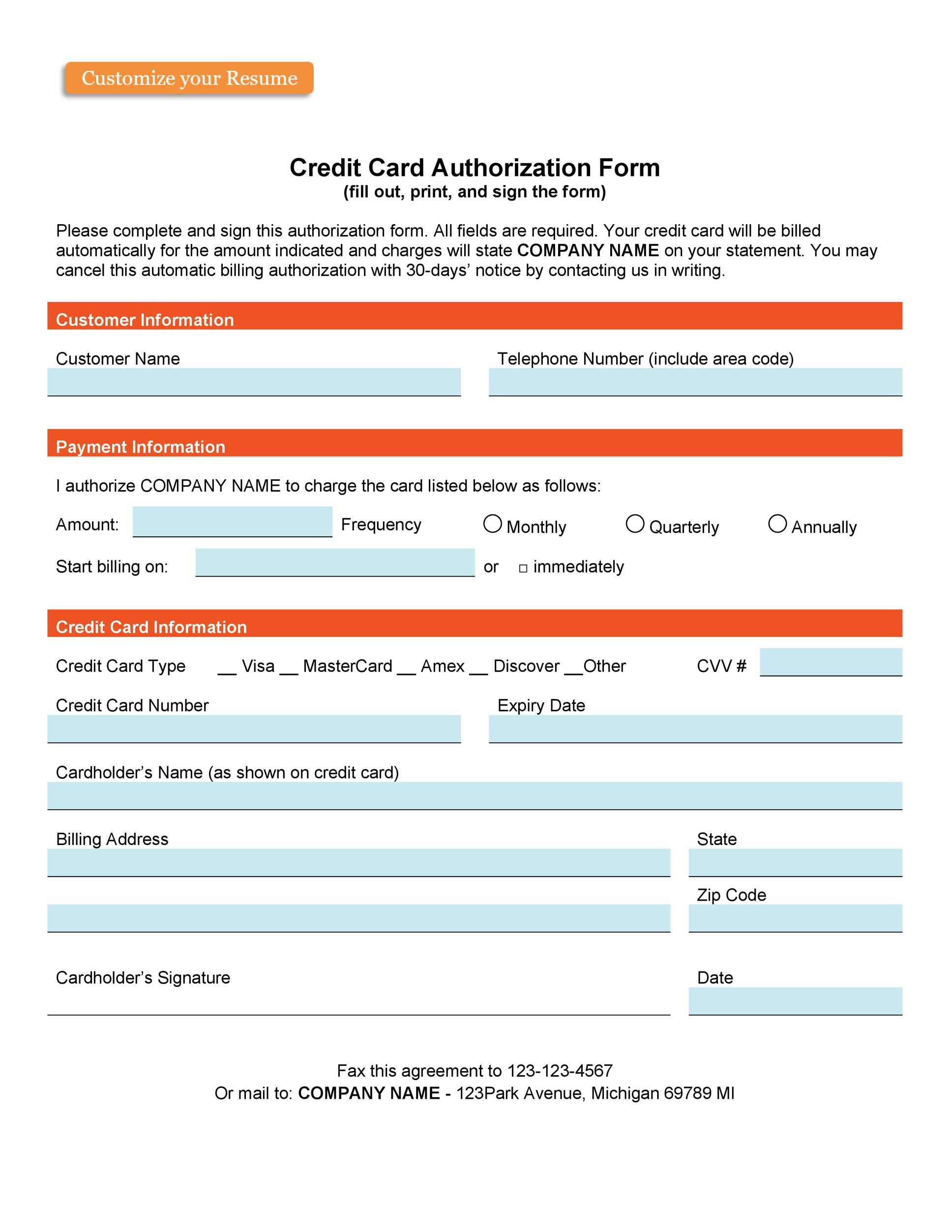 003 Incredible Credit Card Form Template Html Concept  Example Payment CsFull