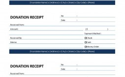 003 Incredible Donation Receipt Template Word Inspiration  Free Microsoft Charitable