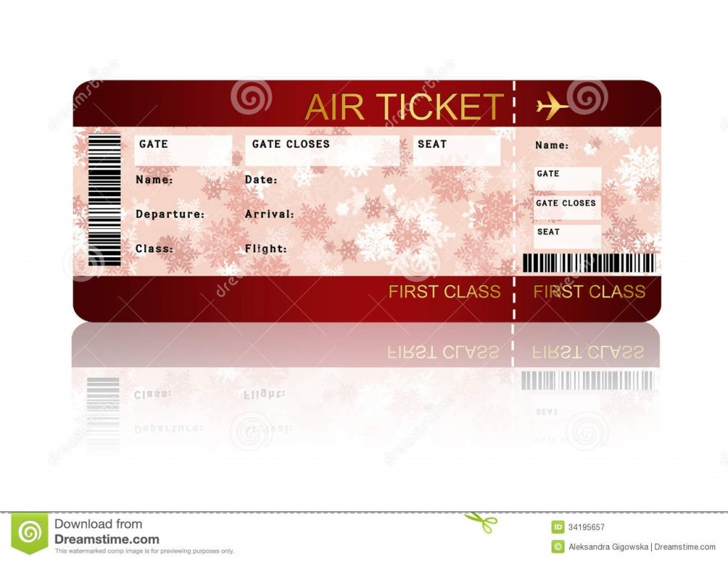 003 Incredible Free Fake Concert Ticket Template High Def Large