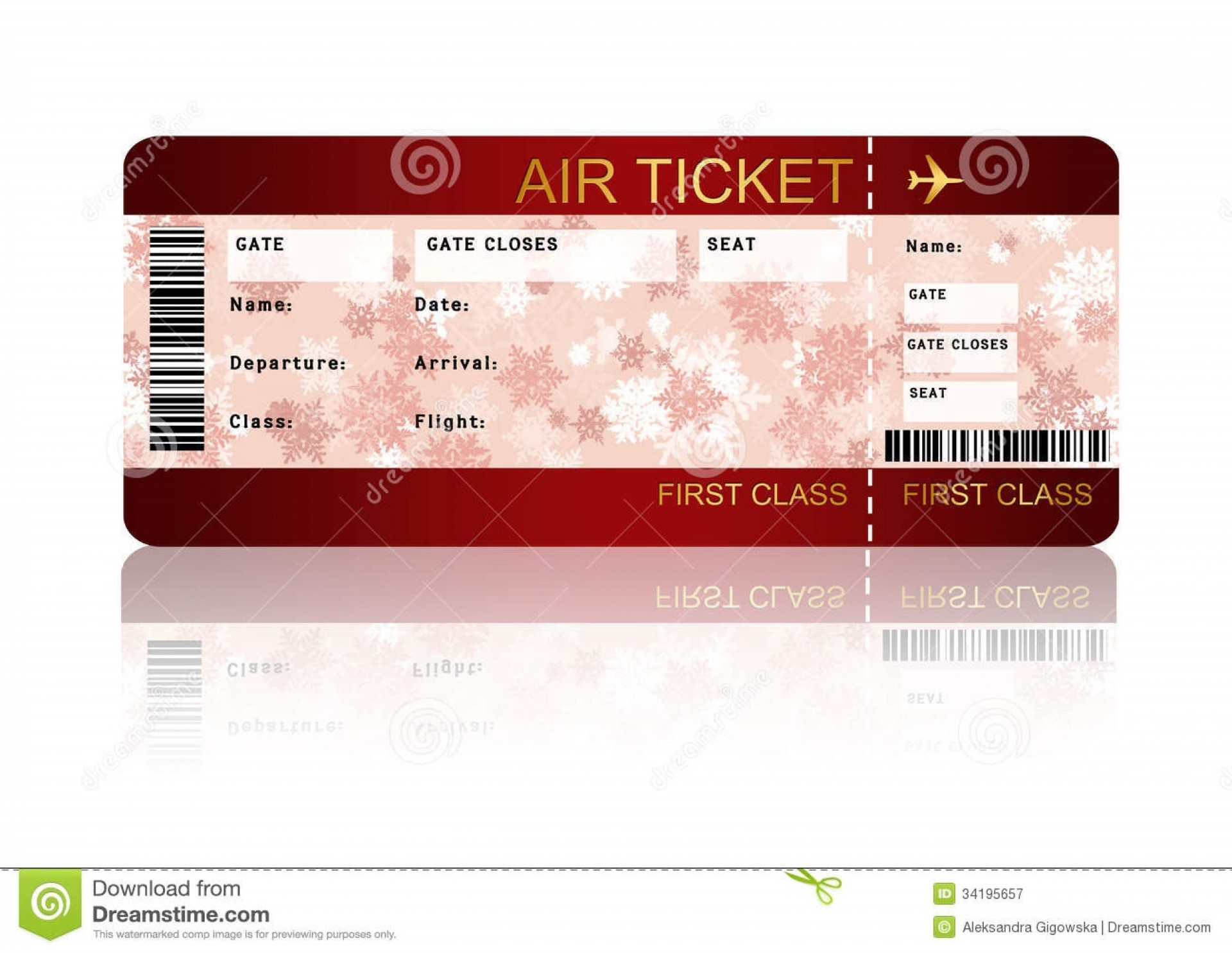 003 Incredible Free Fake Concert Ticket Template High Def 1920