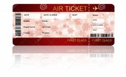 003 Incredible Free Fake Concert Ticket Template High Def